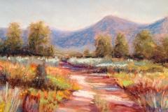 High Desert scene-pastel Tanger